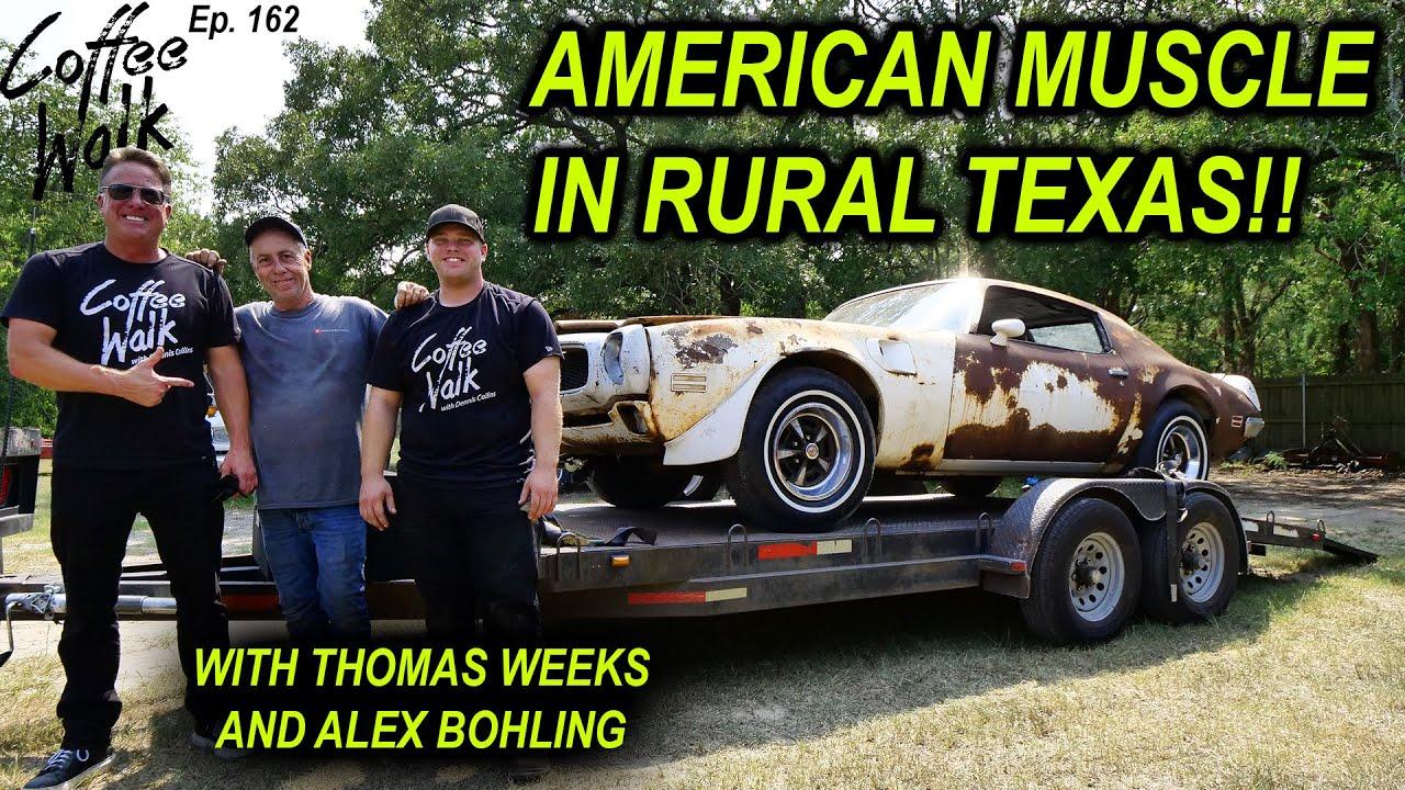 "FOUND: 1972 TRANS AM ""STRIKE CAR"" in Quinlan, Texas"