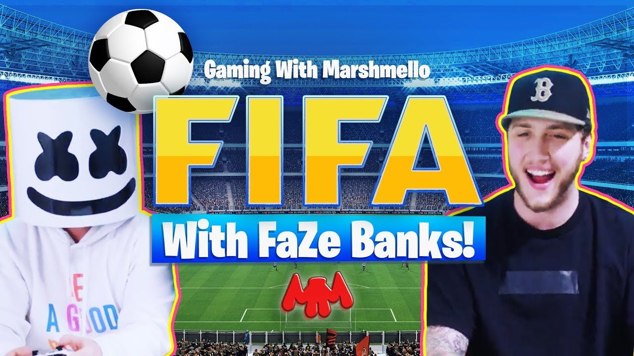 WORLD CUP SHOWDOWN | Marshmello v. FaZe Banks - FIFA 18