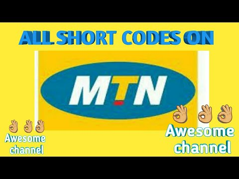 Download All short codes on mtn