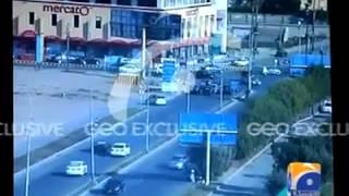 CCTV Footage Dolmen Mall Clifton Karachi
