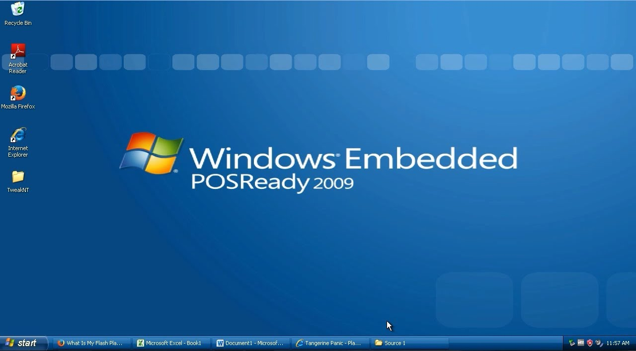Windows Xp Posready 2009 Installation Activation And