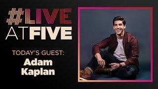 Broadway.com #LiveatFive with Adam Kaplan of A BRONX TALE