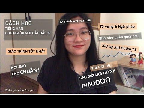 CÁCH TỰ HỌC TIẾNG HÀN TỪ ĐẦU | Learn Korean for Beginners