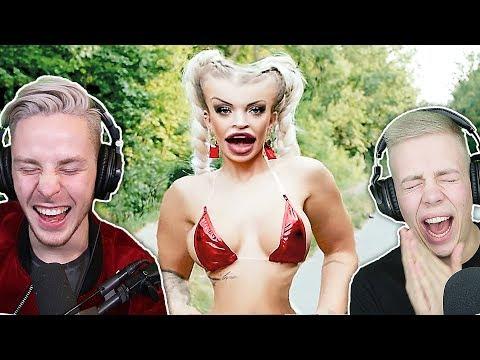 KATJA S*XTAPE YouTube KAKE (unmögliche Nicht Lachen CHALLENGE)