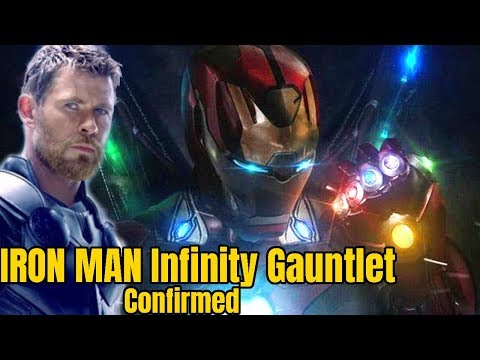 Play Iron man will make his new Infinity Gauntlet confirmed Avengers 4 & Avengers Infinity War
