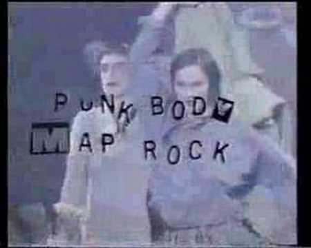 Punk Body Map Rock