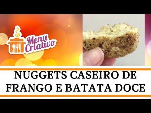 Vídeo - Nuggets Caseiro de Frango e Batata Doce