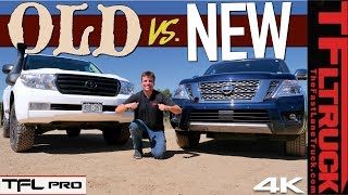 New Nissan Armada vs Toyota Land Cruiser: They Are More Similar Than Different! | TFL Pro Ep.7