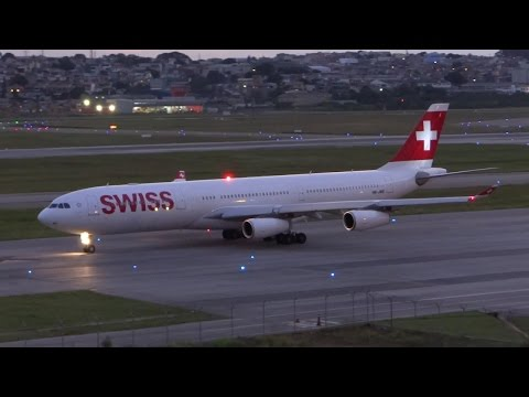 Swiss A340 Business Zurich to Sao Paulo / Flight review #16  / The Way We Saw It