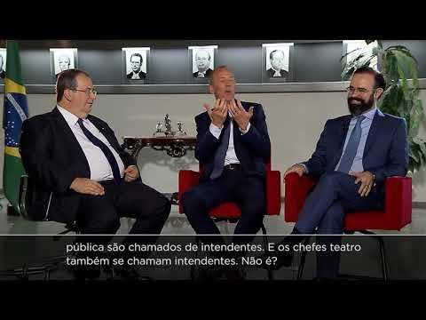 Ministro Villas Bôas Cueva recebe professores da Universidade de Frankfurt