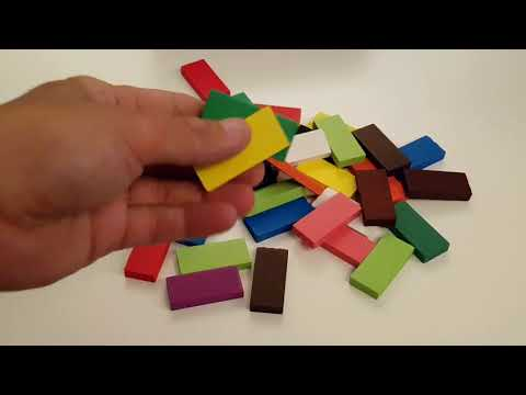 Wooden Domino Toy