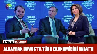 Albayrak Davos'ta Türk ekonomisini anlattı