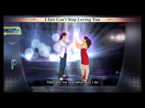 Michael Jackson The Experience I Just Cant Stop Loving You PS3 FULL HD