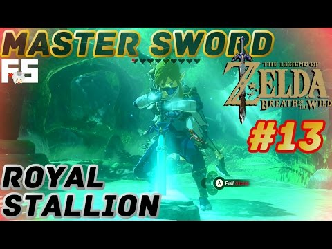 Master Sword & Memory : Zelda Breath of the Wild Walkthrough Part 13 (Switch Gameplay) No Commentary