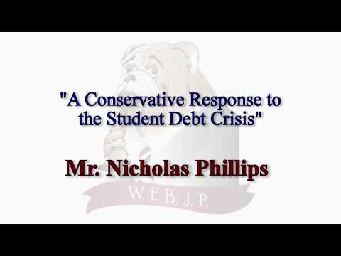 """A Conservative Response to the Student Debt Crisis"""