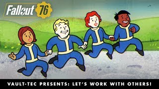 Fallout 76 – Vault-Tec Presents: Let's Work with Others! Multiplayer Video PEGI