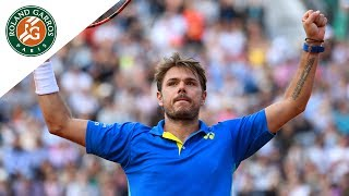 Stan Wawrinka v Marin Cilic Highlights - Men's Quarterfinals 2017 | Roland-Garros