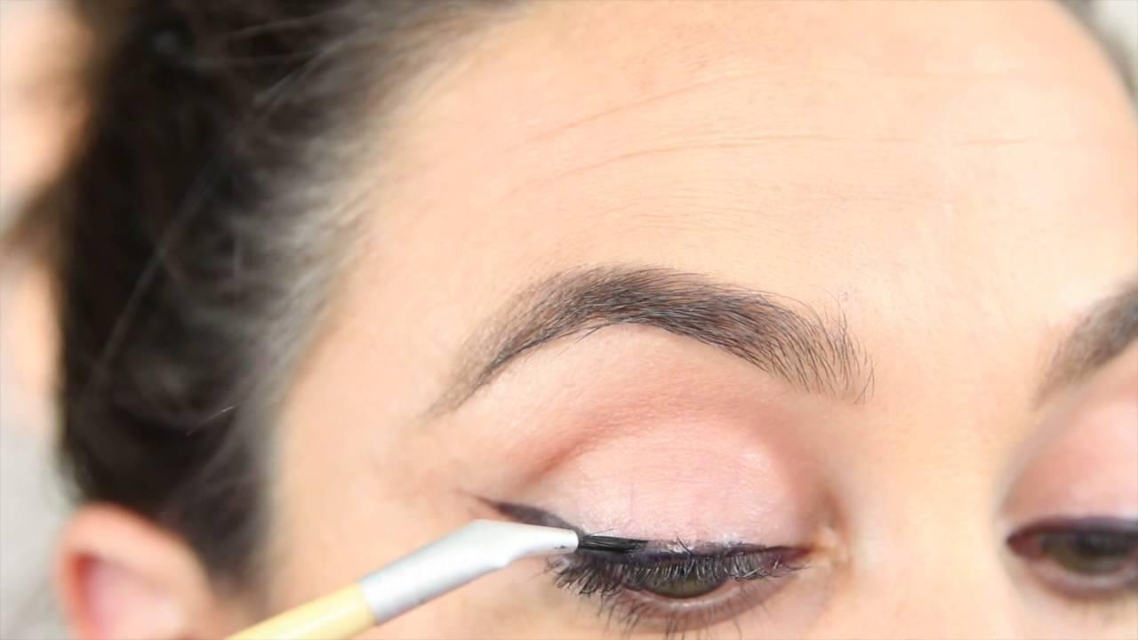 Root Wet Eyeshadow Application Youtube