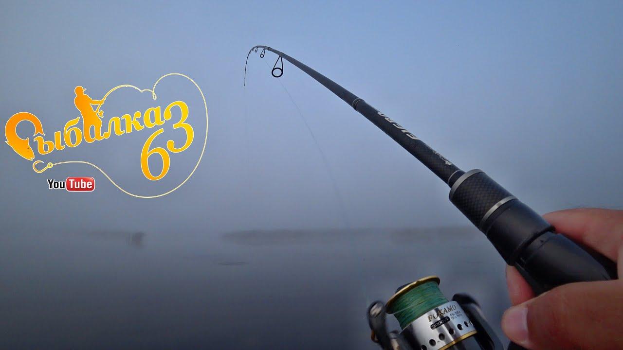 Щука на активные приманки в туман, рыбалка на хищника