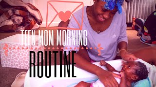 mommy morning routine teen mom edition