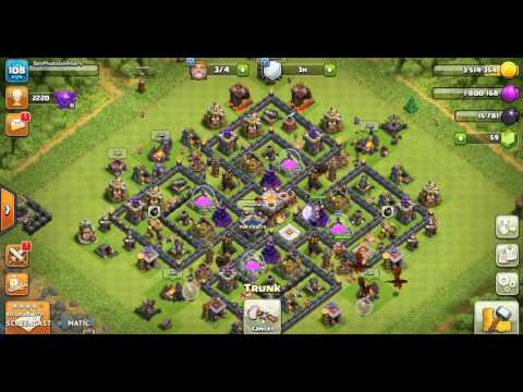 Clash Of Clans (PC Gameplay)