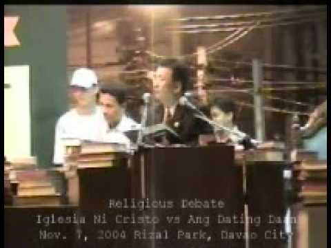 Iglesia vs dating daan debate