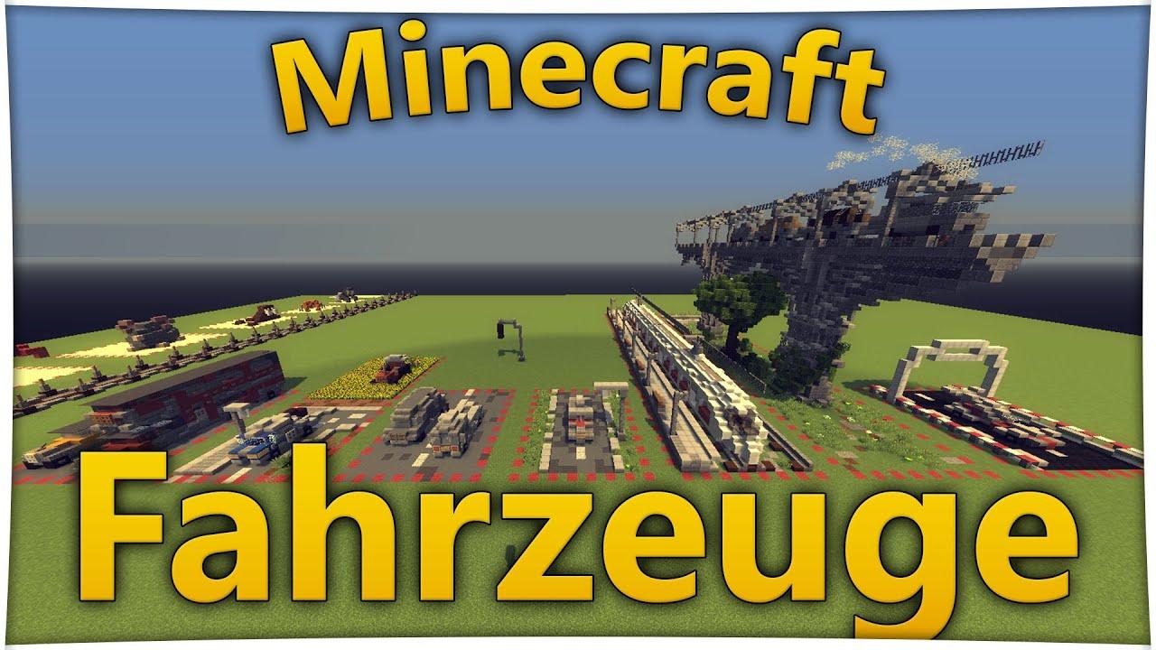 Minecraft deutsch fahrzeuge bauen bauideen deutsch for Bauideen minecraft