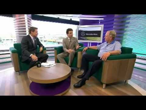 Jack Nicklaus - 2012 Wimbledon Interview