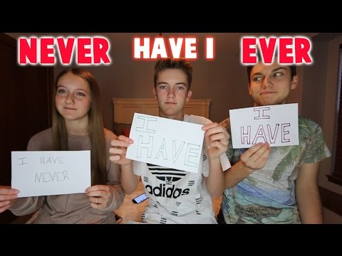 Thumbnail: NEVER HAVE I EVER CHALLENGE FEAT. MY SIBLINGS!