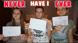 NEVER HAVE I EVER CHALLENGE FEAT. MY SIBLINGS!