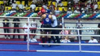 IFMA muaythai RUSSIA vs IRAN -81kg pt1