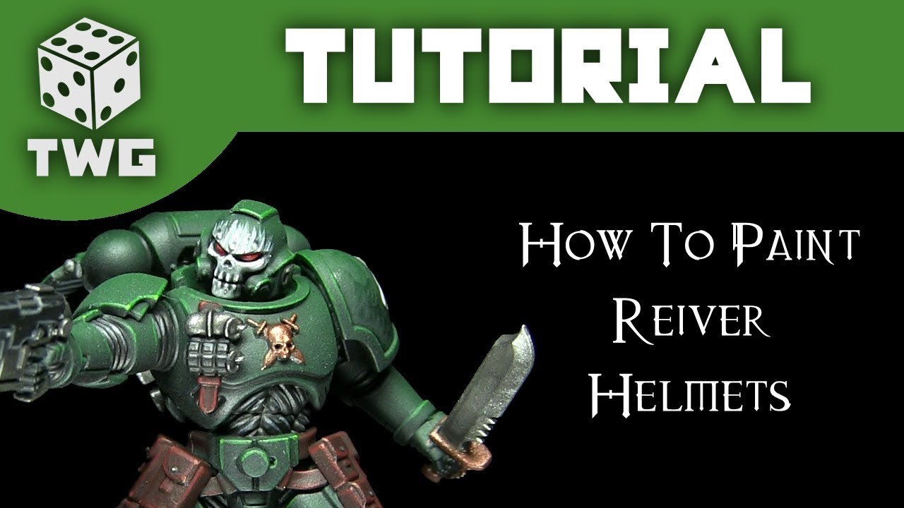 Warhammer Tutorial How To Paint Primaris Reiver Skull