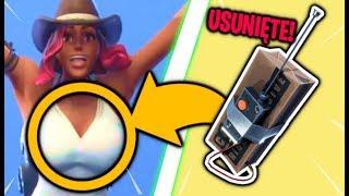 6 USUNIĘTYCH PRZEDMIOTÓW W SEZONIE 6! (Fortnite Battle Royale) | Jajuu
