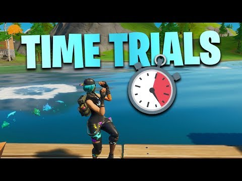 Fortnite: Complete The Swimming Time Trials At Lazy Lake And East Of Hydro 16 (Dive Challenges)