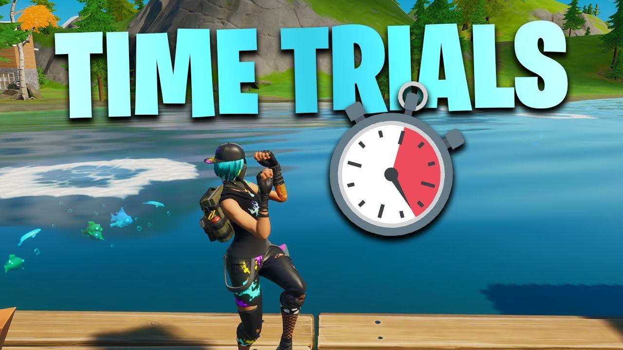 Fortnite Complete The Swimming Time Trials At Lazy Lake And East Of Hydro 16 Dive Challenges