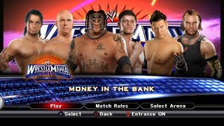 WWE SmackDown VS Raw 2009 PS3 Gameplay - 6-Man Money in The Bank [FullHD]