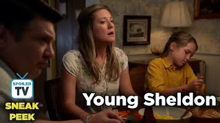 "Young Sheldon 2x05 Sneak Peek 1 ""A Research Study and Czechoslovakian Wedding Pastries"""