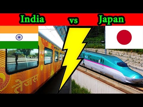 Indian Railways vs Japanese Railways Complete Comparison