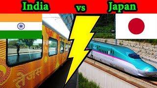Indian Railways vs Japanese Railways Complete Comparison