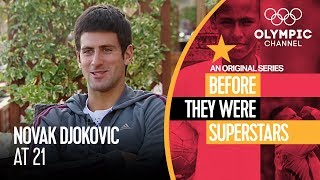 Novak Djokovic When He Was Just 21 | Before They Were Superstars