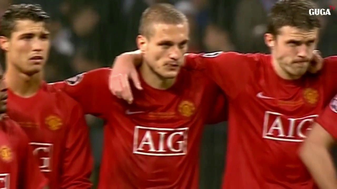 Watch Manchester United Vs Chelsea Final Moscow 2008 Penalty Shootout Benchwarmers