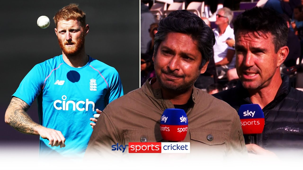 """He's one of the best in the world, I hope he's ok""   Pietersen & Sangakkara react to Stokes' break"