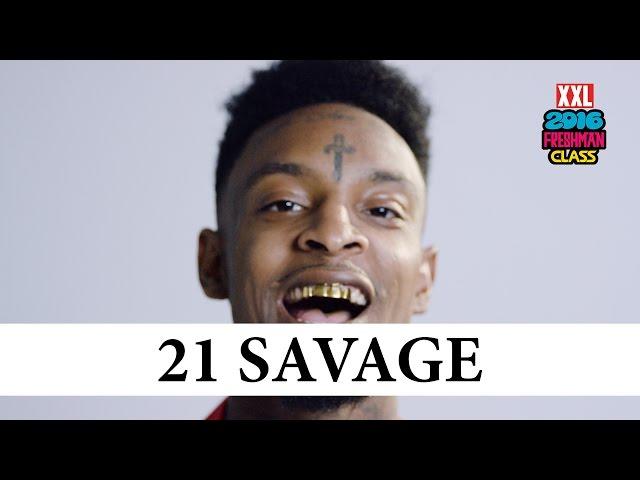 Video: 21 Savage Freestyle (XXL Freshman 2016)   Rudeboyy com