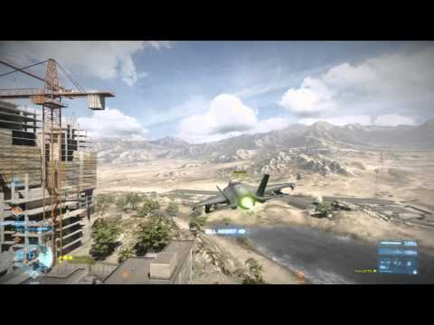 Battlefield 3: F-35B Lightning II Jet Gameplay on Gulf of Oman (HD) - Part 1 of 2