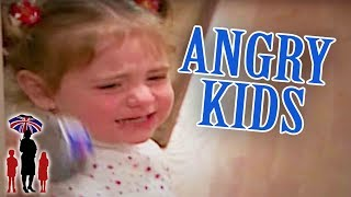 Dad Can't Handle Angry Kids | Supernanny