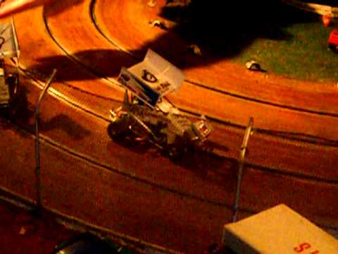 Slot Car Oval Racing Cape Town Bonzai Speedway Dscn1884 Youtube
