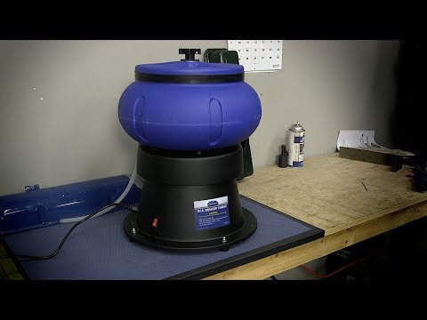 How To Clean Metal with a Vibratory Tumbler from Eastwood.