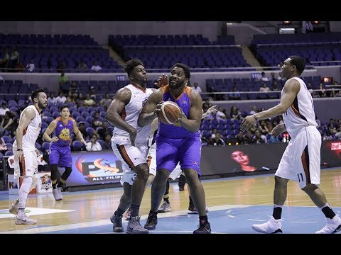 Joshua Smith Highlights vs. Meralco, QF Game 3   31pts, 27rebs, 4asts MONSTER GAME!