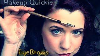 Makeup Quickie:  EyeBrows Thumbnail