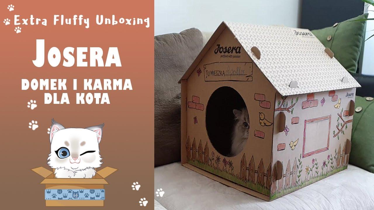 Josera produkty dla kota 😺 Extra Fluffy Unboxing 🎁
